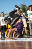 Artista break dance, — Fotografia Stock