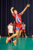The game of volleyball — Foto de Stock
