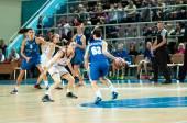 Basketball game, — Stock Photo