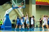 Jogo de basquete, — Photo