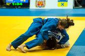 Girl in Judo — Stock Photo