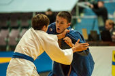 Young men in Judo — Stock Photo
