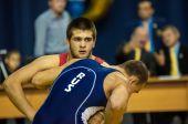 Sports wrestling — 图库照片