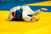 Judo competition youth  — Stock Photo