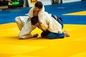 Judo competition youth.  — Stockfoto