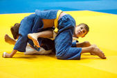 Judo competition youth.  — Stok fotoğraf