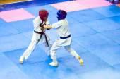 Open karate tournament kiokusinkaj — Stok fotoğraf