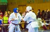 Open karate tournament kiokusinkaj, — Stock Photo