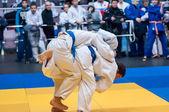 Two judoka — Стоковое фото