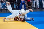 Two judoka — Foto de Stock