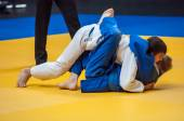 Competitions on Judo — Stock Photo