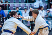 Competitions on Judo  — Stockfoto