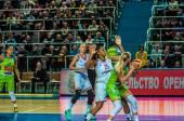Girls basketball tournament — Zdjęcie stockowe