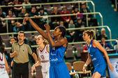 Turnaj v basketbalu dívek, — Stock fotografie