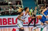 Girls basketball tournament, — Stok fotoğraf