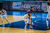 Meisjes basketbaltoernooi — Stockfoto