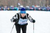 Esquí de fondo — Foto de Stock