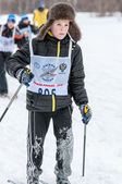 Cross-country skiing. — Stock Photo