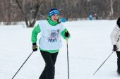 Cross-country skiing competitions — Photo