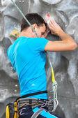 Rock climbing — Stock Photo