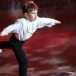 Boy in figure skating — Stock Photo #69507629
