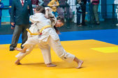 Judo competitions among girls, Orenburg, Russia — ストック写真