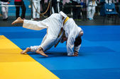 Boys Judo — Stock Photo