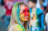 Festival of paint holi — Zdjęcie stockowe