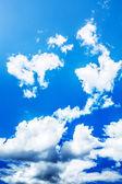 Niebo z chmurami — Zdjęcie stockowe
