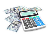 Money accounting  — Stock Photo