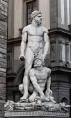 Hercules and Cacus — Stock Photo