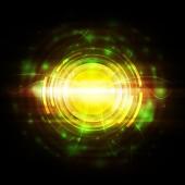 Electric light background — Stock Photo