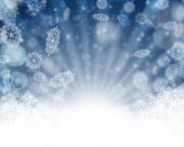 Merry Christmas Background with snow — Stock fotografie