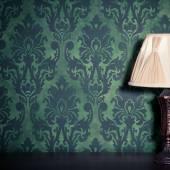 Vintage room interior toned image — Stock Photo