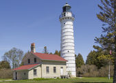Cana Island Lighthouse — Stock Photo