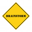 Brainstorming Sign — Stock Photo #52574315