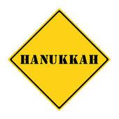 Hanukkah Sign — Photo