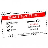 EPS Smart Investing Red Coupon — Stock Photo
