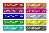 Ten Contact Us Buttons — Stockfoto