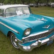 1956 Chevy Bel Air Blue and White Car — Stock Photo #70901725