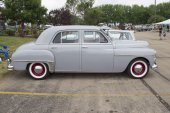 1950 Plymouth Car Side View — Stock fotografie
