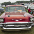 1957 Chevy Bel Air Wagon Car Front View — Stock Photo #77987464