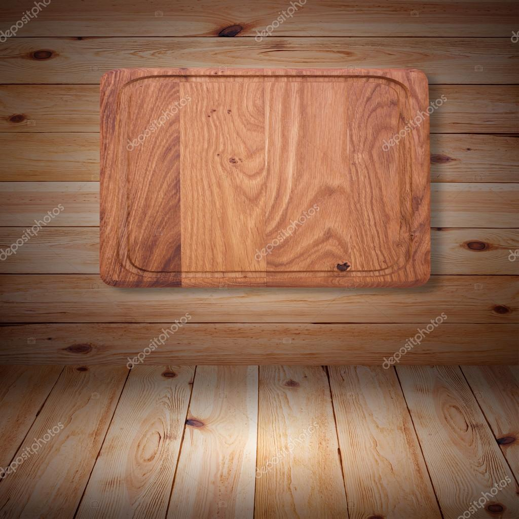 Houtstructuur. houten keuken snijplank close-up — Stockfoto ...
