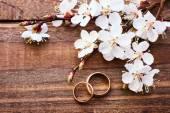 Sfondo di bouquet da sposa. — Foto Stock