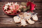 Christmas cookies handmade — Stock Photo
