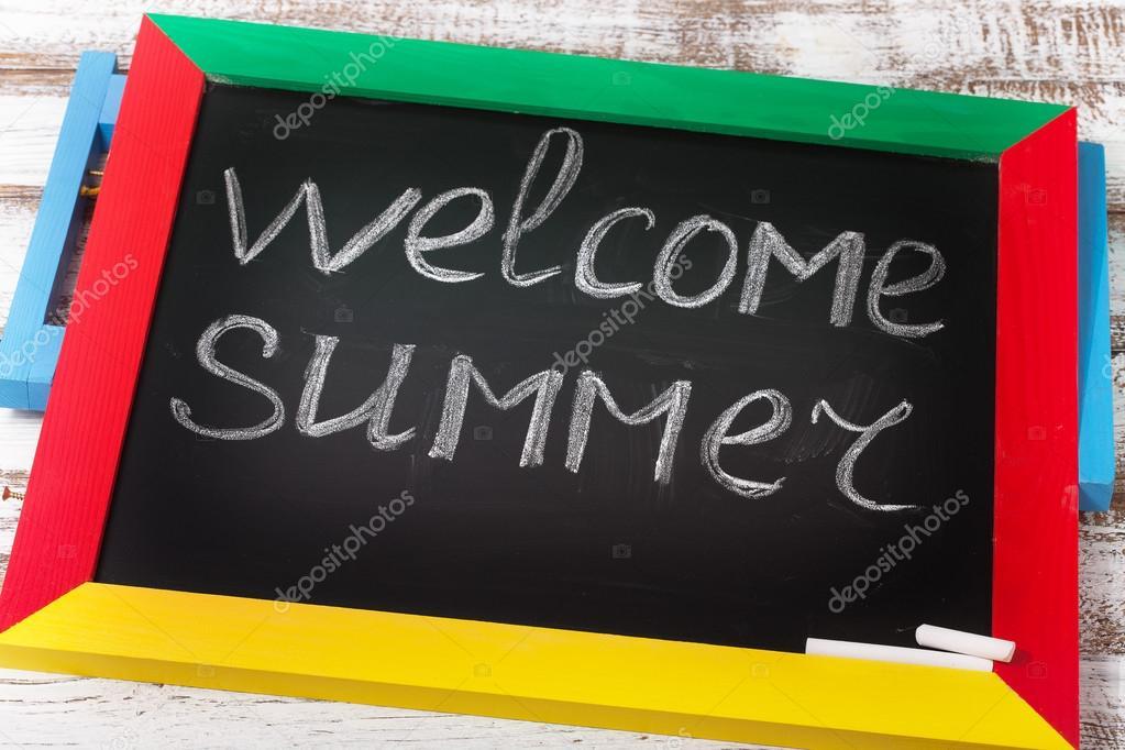 Добро пожаловать лето картинки