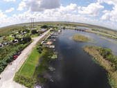 Boat ramp in the Florid Everglades — Stock Photo