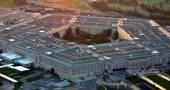 US Pentagon at sunset — Fotografia Stock