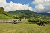 Old fortress on Brimstone Hill in St Kitts — Stock Photo