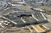 US Pentagon aerial view — Stock Photo